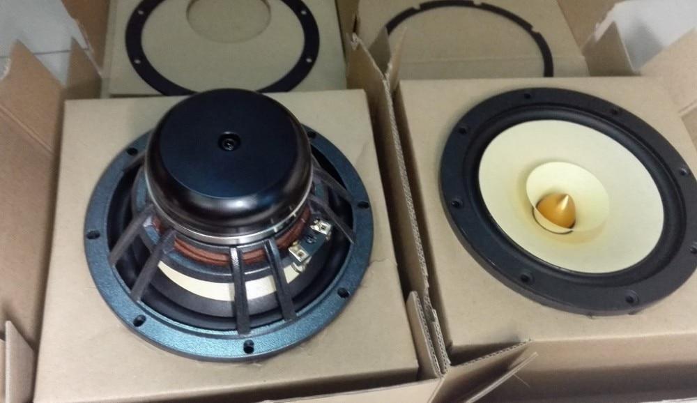 Pair 2 Unit  Melo David Davidlouis Audio HiEND 6.5inch Fullrange Speaker Mix Paper Cone NEO Magnet 8ohm
