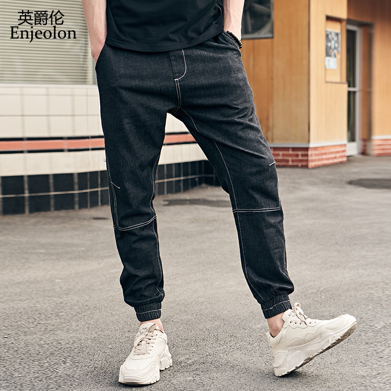 Enjeolon new fashion 2019 men jeans pants sweatpants jeans ...