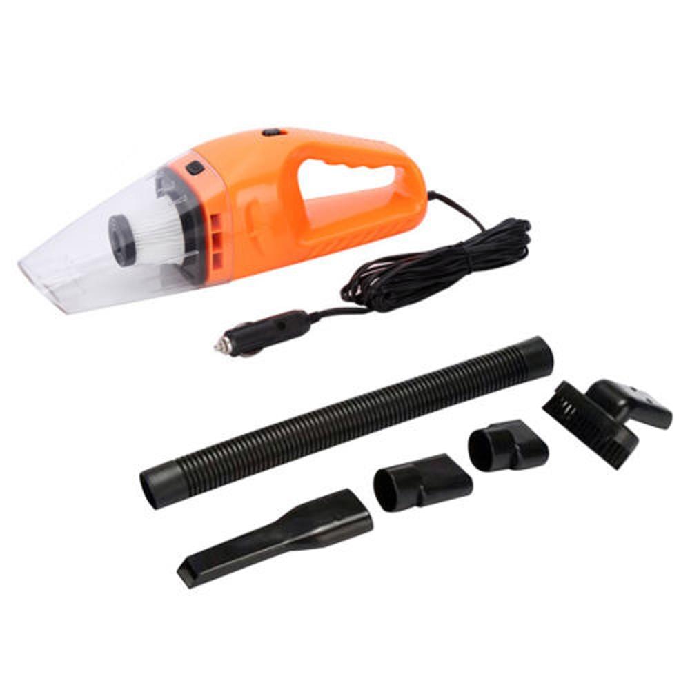 Portable DC 120W 12V Handheld Car Vacuum Cleaner Wet/Dry Duster Dirt Tools Set