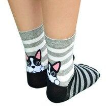 Носки для девочек calcetines mujer 3D