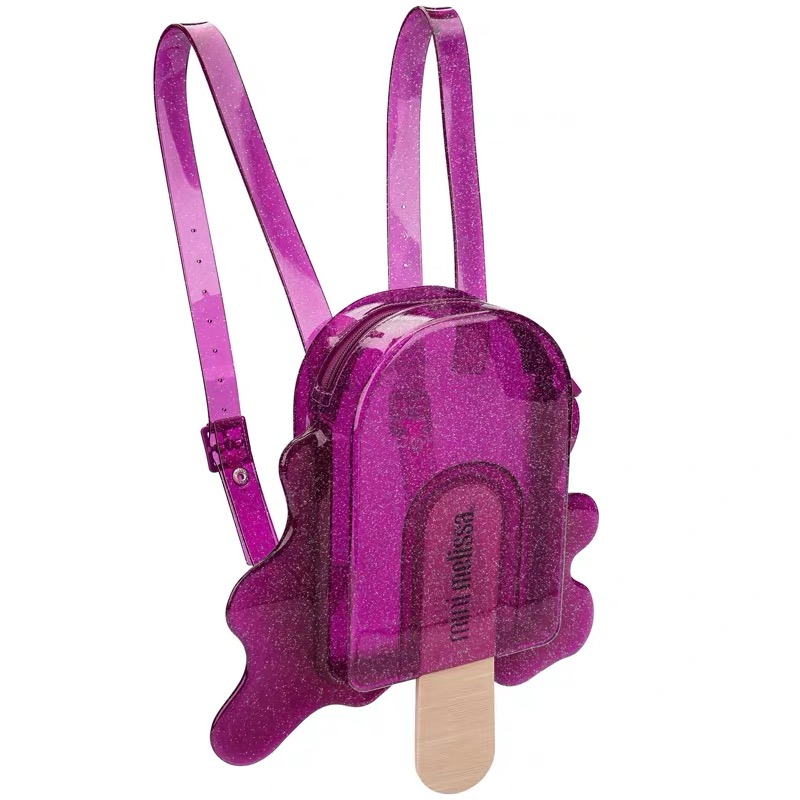 Mini Melissa Cute Bag Popsicle 2020 Original Girl Jelly Shoes Bag With Sandal  3 Color