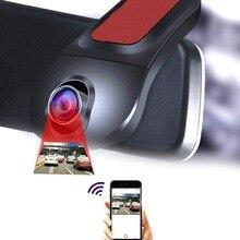 Full HD WiFi Car DVR Digital Video Recorder di Guida Videocamera del Precipitare della Camma Della Macchina Fotografica di Notte Versio 170 Gradi di Rilevamento del Movimento