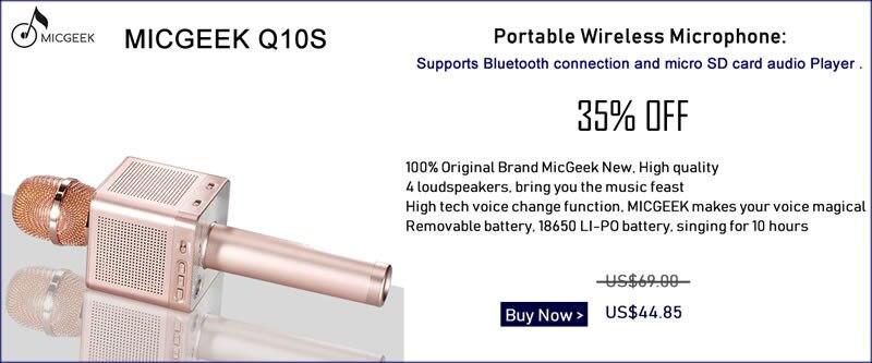 Original Brand Tosing Q9 04 wireless Karaoke Microphone