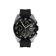 1,2 Zoll Volle Runden Bildschirm G5 Smart Uhr Bluetooth 4,0 Für Android & IOS Schrittzähler Pulsmesser Smartwatch Smart armband