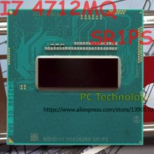 Ban đầu Intel Core I7 4712MQ SR1PS CPU I7 4712MQ Bộ vi xử lý 2.30 GHz 3.3 GHz L3 = 6 M Quad Core miễn phí vận chuyển tàu ra trong vòng 1 ngày