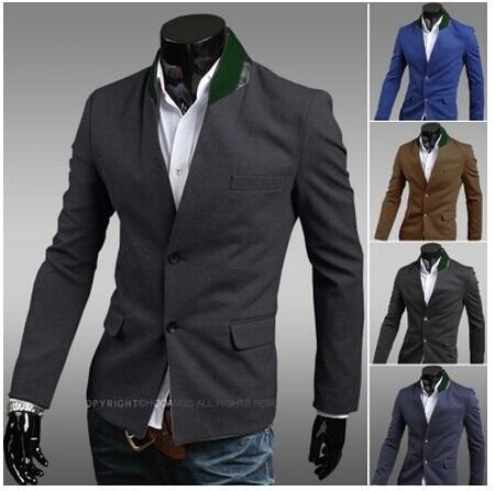 Men Blazer Designs Korean Suit Mens Jackets And Coats Blazer Brand ...