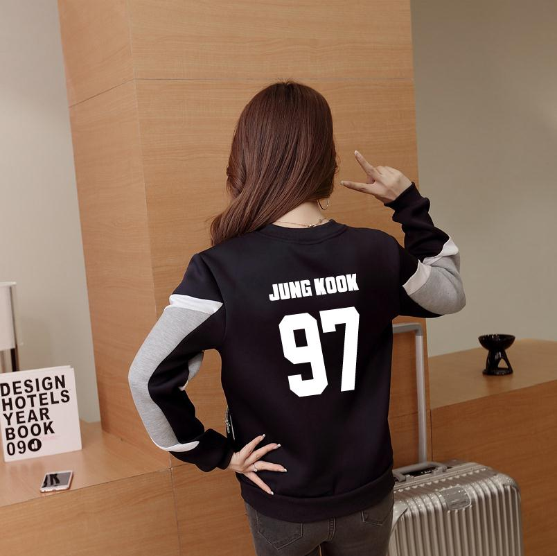 kpop BTS Album sweat Bangtan Boys baseball long sleeve jacket high quality hoody k-pop a ...