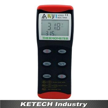 AZ-8852 Dual Input K/J/T Typ Thermometer Thermoelement Zwei Kanal Temperatur