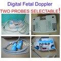 Mesa-top digital doppler fetal dos sondas seleccionable (2.2 mhz o 3 mhz) altavoz duble
