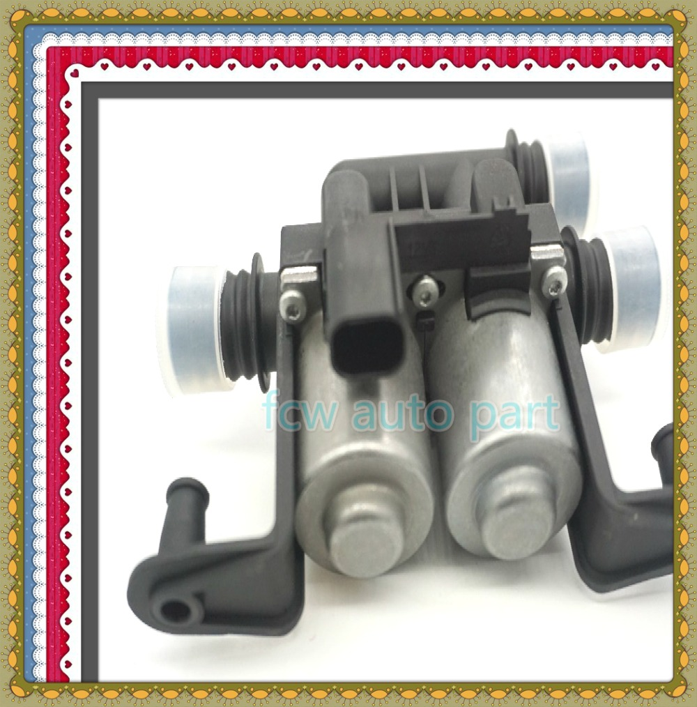 Water Heater Control Valve Dual Solenoid For BMW E39 E53 OEM 1 147 412 159 , 64116906652 , 1147412159 1147412137