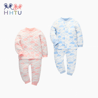 HHTU Baby Girls Boys Children Clothing Sets Casual Tracksuit Infant Toddler Newborn Clothes T Shirt Pants