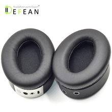 Defean החלפת זיק 1.0 אוזן רפידות תוכי על ידי פיליפ זיק 1.0 אוזניות 1 זוגות שחור earpads כרית כוסות Earmuffes