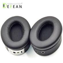 Defean almohadillas para las orejas de repuesto ZIK 1,0, para Parrot, de Ernie ZIK 1,0, auriculares, almohadillas para las orejas, 1 par, color negro