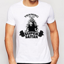 Super Saiyan Printed T Shirt High Quality
