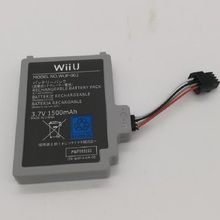 New 1500mAh Battery for Nintendo WiiU Wii U Gamepad Joystick Controller Bateria 3.7V Li-Ion Rechargeable Batteries Replacement 3 7v 1500mah 3600mah rechargeable battery for nintendo u wii wiiu gamepad controller joystick replacement repair part free tool
