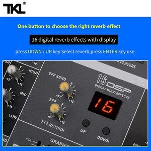 Image 3 - TKL SS1200 USB profesyonel ses mikseri 12 kanal ses karıştırma konsolları Bluetooth 16 yankı ekolayzır