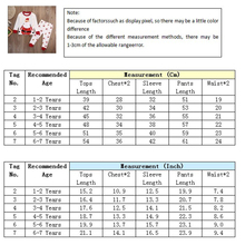 2pcs Baby Girl Boy Clothes Christmas Santa Long Sleeve T-Shirt+Long Pants toddler Girl Clothing New Year's costumes for boy girl