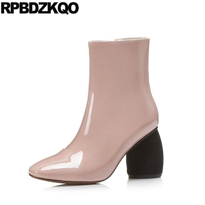 Chaussures automne à bout carré roses femme p0r9zS