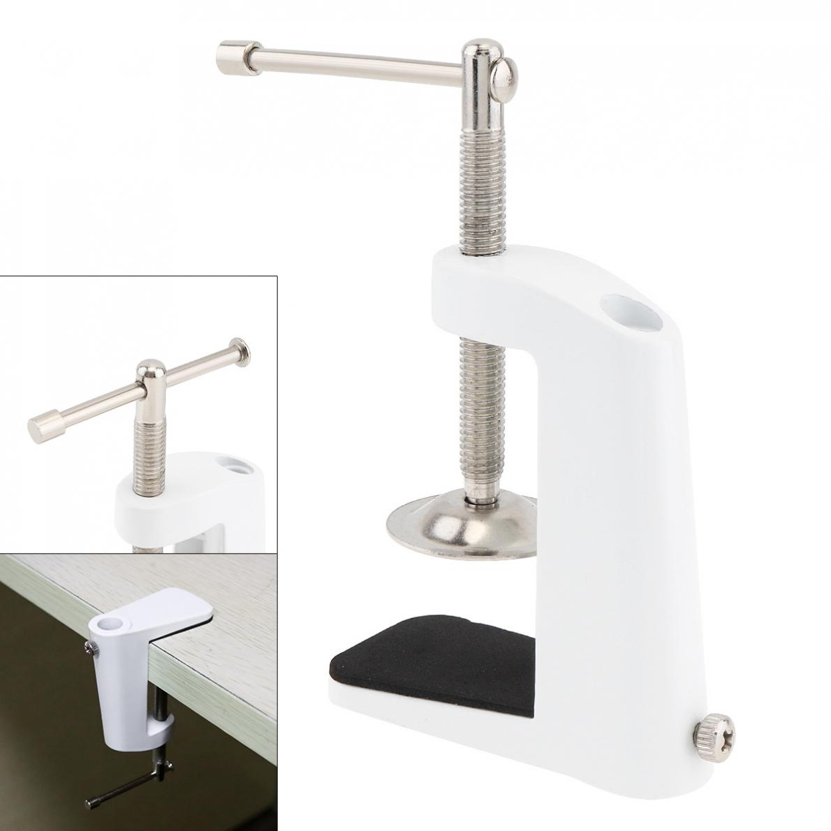 Aluminum Alloy Cantilever Bracket Clamp With 12MM Hole Diameter And Non-slip Mat For Mic Stand Desk Lamp Clip Fittings Base