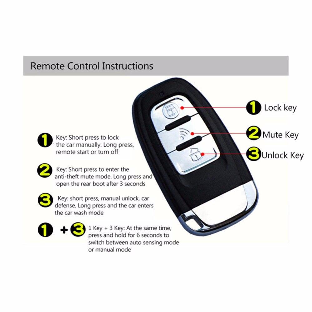 Pour Toyota démarrage à distance système d'alarme de voiture sans clé télécommande bouton de moteur de voiture à distance PKE démarrage arrêt verrouillage Central - 3