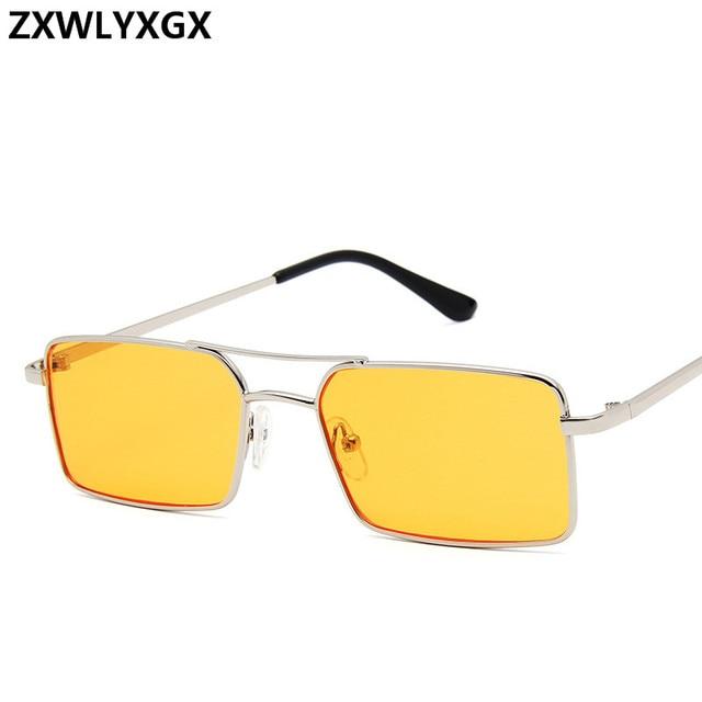 Gafas De Sol clásicas De estilo Retro para mujer, anteojos De Sol femeninos, De lujo, Steampunk, De Metal, con espejo Vintage, con UV400, 2021 2