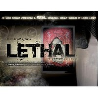 Lethal,Signed Card On Board Magic Tricks, Stage,Card magic,Accessories,Illusions,Gimmick,Prop,Classic Toys