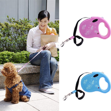 3M Retractable Dog Leash Traction Rope Pet Dog Cat Puppy Walking Leash Lead Perfect for small