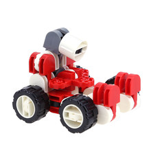 1 Pcs Action Figures Children Transformation Robot Building Blocks Kids Baby Educational Learning Intelligence Toys Gift(China)