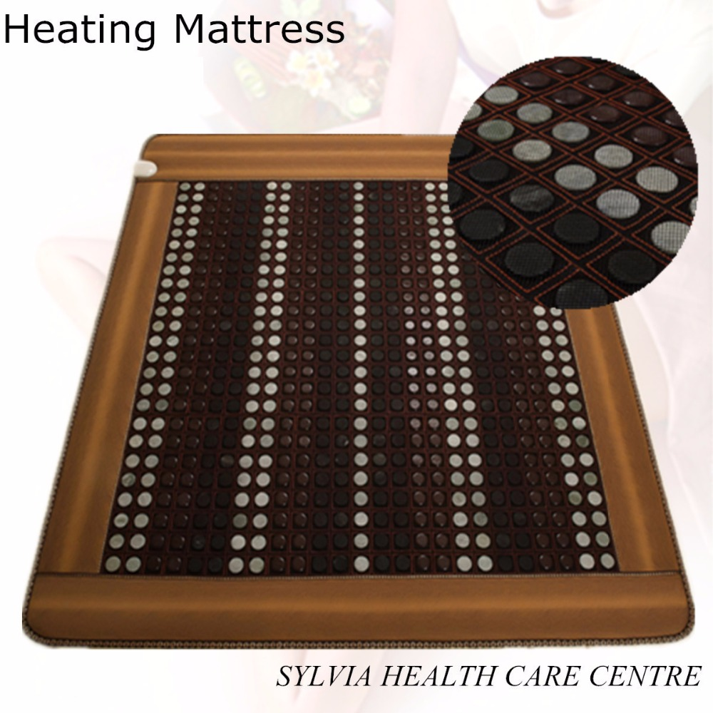 Infrared heating health products sleeping mattress thermal heating jade 2018 new product with Free Gift eye cover infrared heating health products japan mattress thermal massage bed jade 2015 new massage mattress 1 0x1 9m