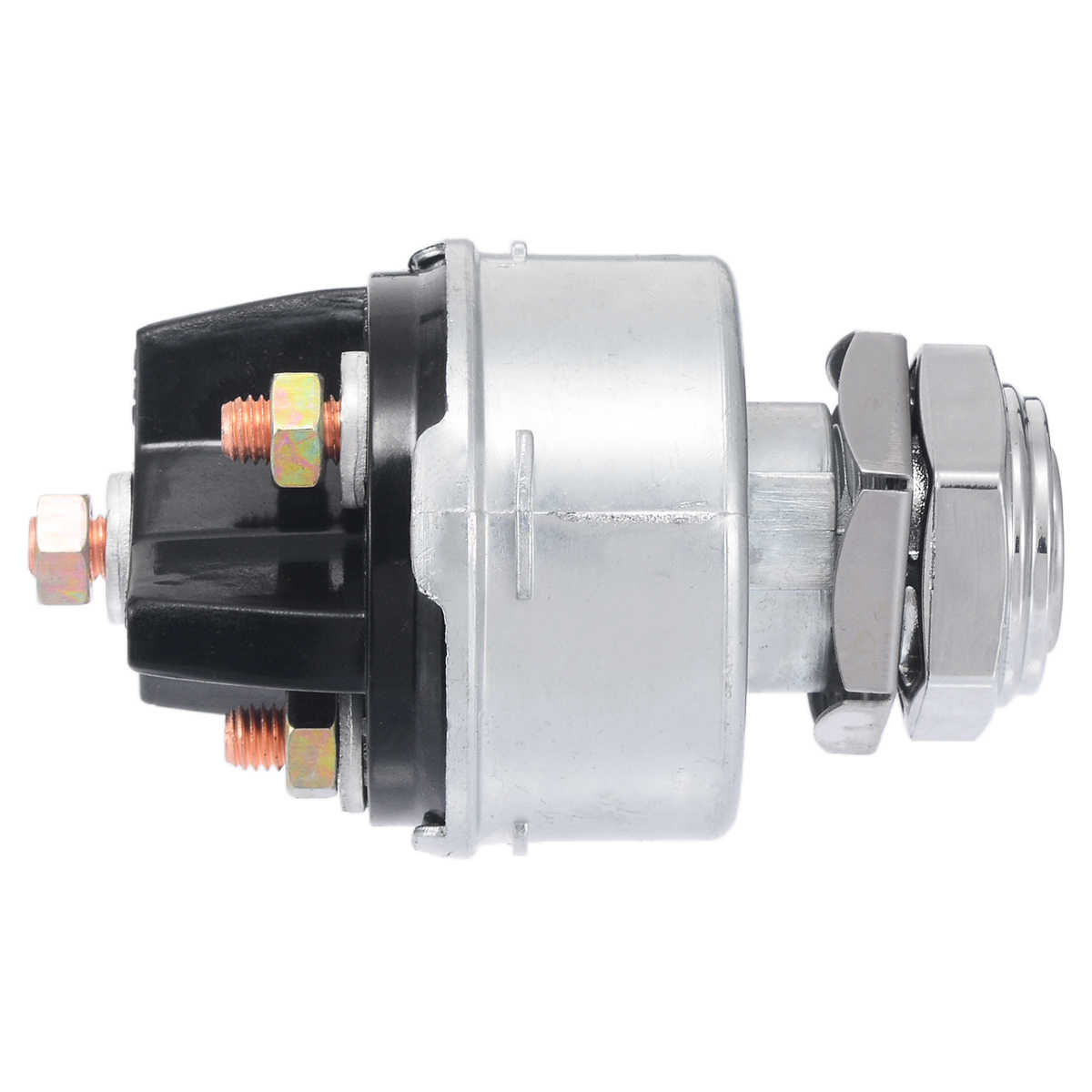 Key Switch for Motor Vehicle Boat Boat Ignition Switch Control SPB501 with 2 Keys 3 Positions Ignition Key Switch 12V Auto Universal Ignition Key Switch