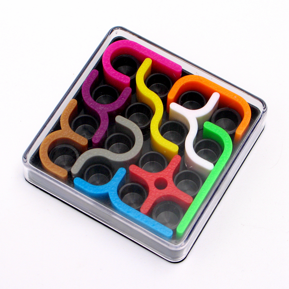 Zcube IQ Link Colorful 3D Puzzle Jigsaws Intelligence Educational Toys for Kids Children