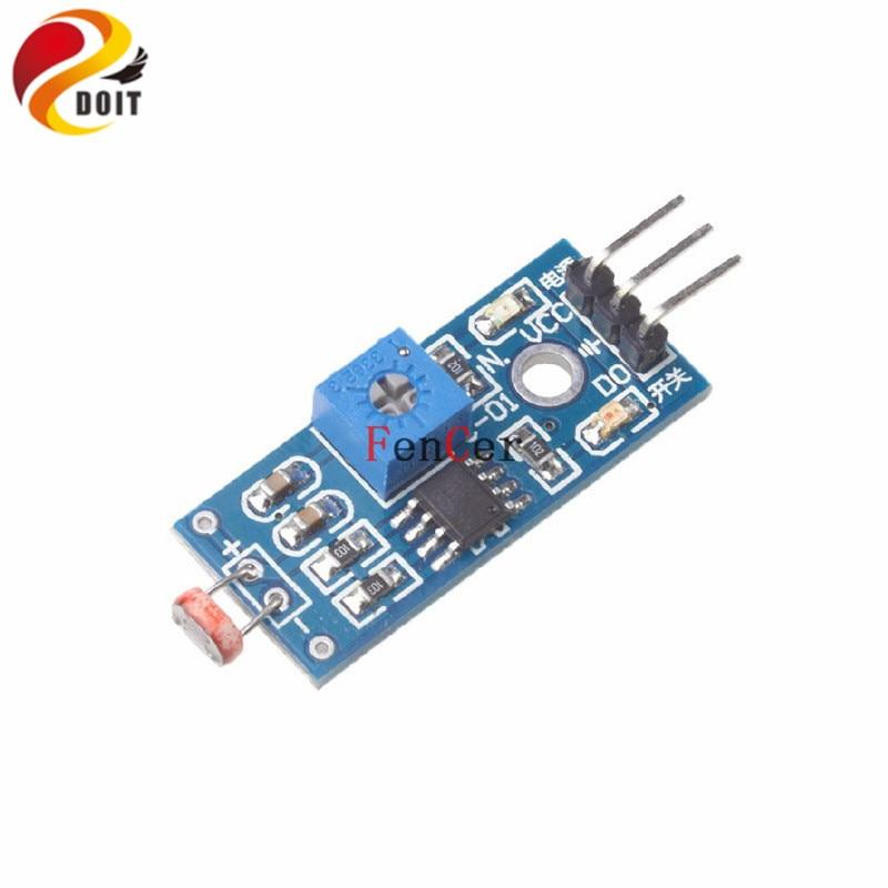 Photosensitive Sensor Module Light Detection Photoresistance Suite 3 Line Lead DIY RC Electronic Toy Development Board