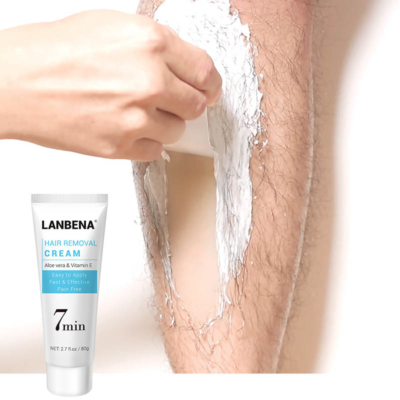 Hair Removal Cream Underarm Hand Leg Body Facial Quick Painless Effective Hair Remover SSwell
