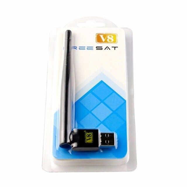 Récepteur Satellite Freesat RT5370 Mini adaptateur USB WiFi pour Freesat V7 HD COMBO MAX V8 Super or v8 récepteur dor