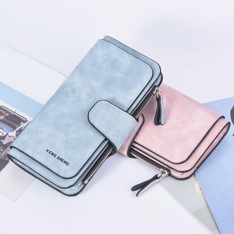 2019 Leather Women Wallets Tassel Wallet Women Long Cute Wallet Zipper Portefeuille Female Purse Clutch Cartera Mujer