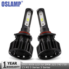 Oslamp 9005 HB3 9006 HB4 72W 8000LM COB Car LED Headlight Bulb 12V 24V Auto Headlamp for BMW 325 740 750 Z3 M3 5 Series 3 Series(China)