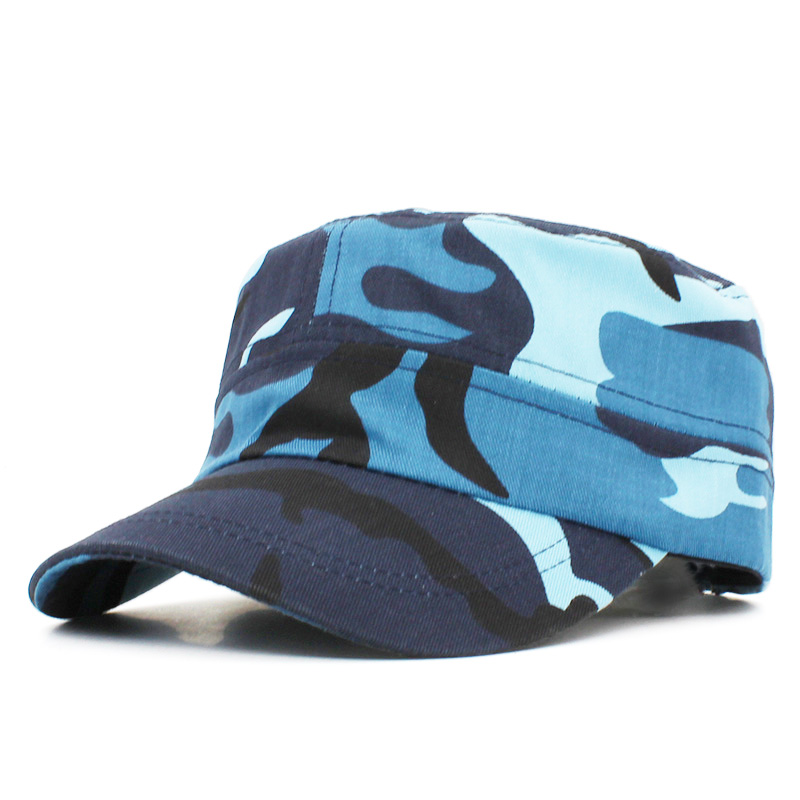 Men Women Military Hat Fashion Brand Army Camouflage Special Forces Adjustable Cap Gorras Militares Boina Sailor Gorro AD104 image