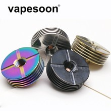 Diameter 22mm Metal 510 Heat Sink for Electronic Cigarette Decoration Dissipation heat for 510 Thread Atomizer Mod Kit