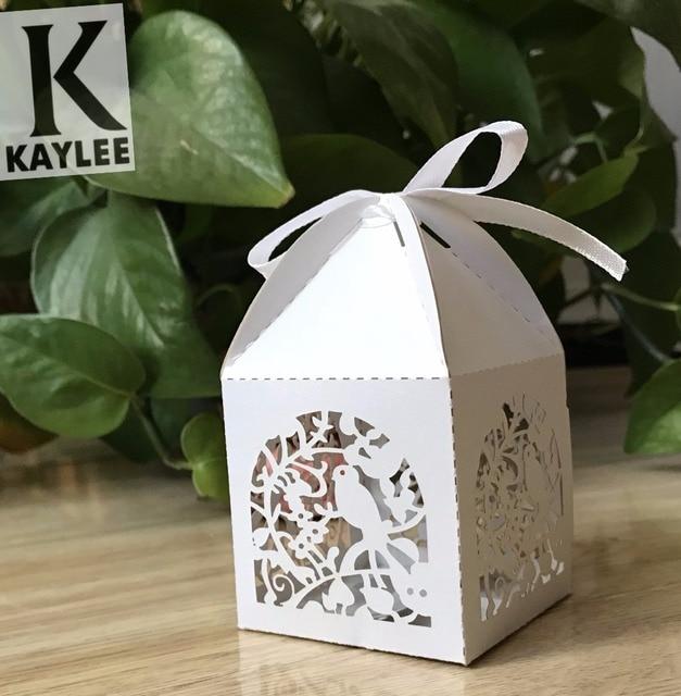Craft Wedding Engagement Candy Box100pcs Decorative Birthday Party Favor Pack BoxCustom Supply Chocolate Box Gift