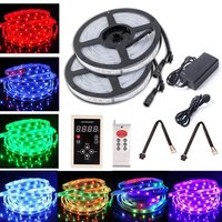 10M 6803 LED RGB Strip 150LED 5050 Digital IP67 Dream Magic Color Waterproof LED Strip + RF6803 Controller+12V 6A Power supply