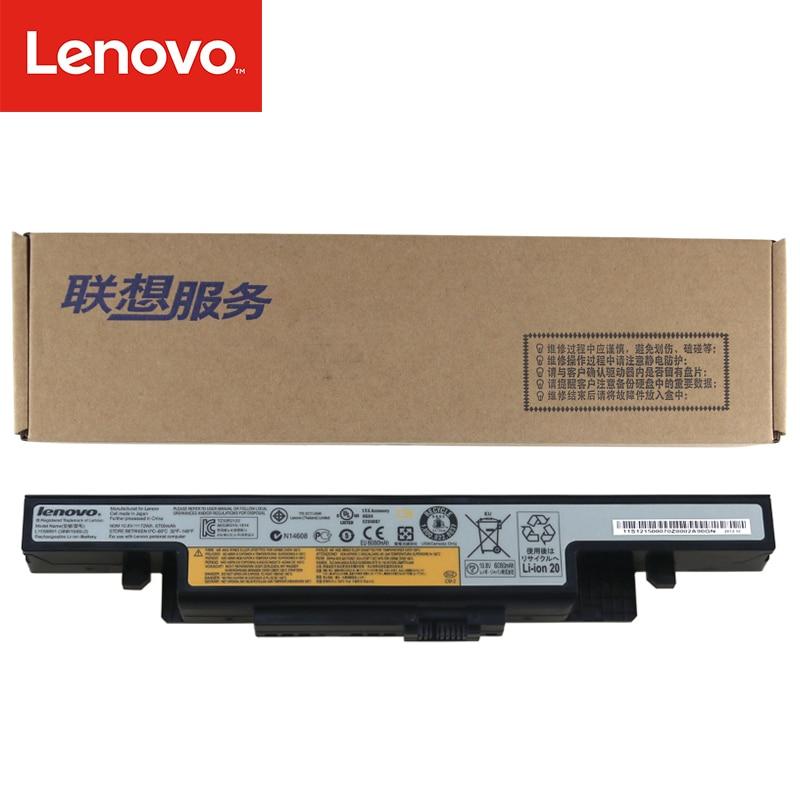 Original Laptop Battery For Lenovo Y490 Y490P Y400 Y410P Y400N Y500 Y500N Y510P L11L6R02 L11S6R01 L12L6E01 L12S6A01 L12S6E01