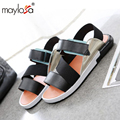 2017 Summer Style Men Sandals PU Leather Beach Sandals slippers Brand Outdoor Casual shoes Men Beach Sandals frees shipping ML36