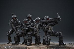 Image 5 - JOYTOY 1:18 figurines action US armée aéroportée Corps soldat figure modèle jouets pour enfant cadeau livraison gratuite