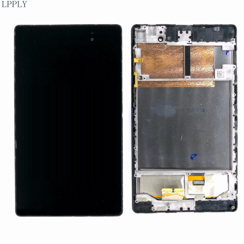 LPPLY LCD Assembly For ASUS Memo Pad 7 Me572 Me572c Me572cl Me572k LCD Display Touch Screen Digitizer Glass Free Shipping