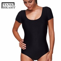 Tank Heart Maillot Athletic Training Trikini Sport One Piece Swimsuit Bathing Suit Women Monokini Racing Plus