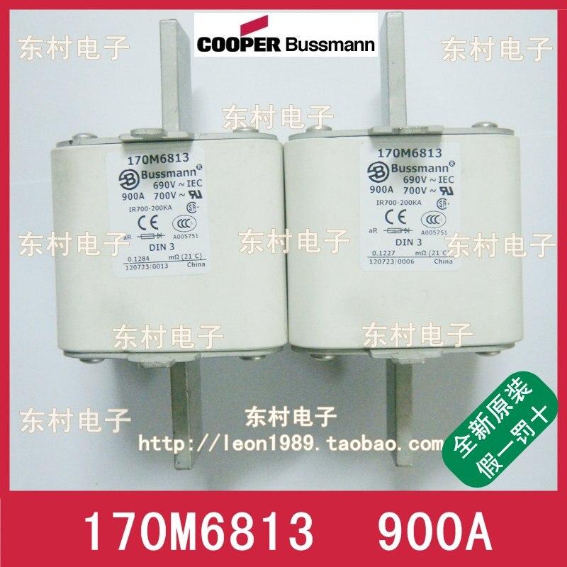 US BUSSMANN fuse 170M6813 170M6813D 900A 690V 700V fuse