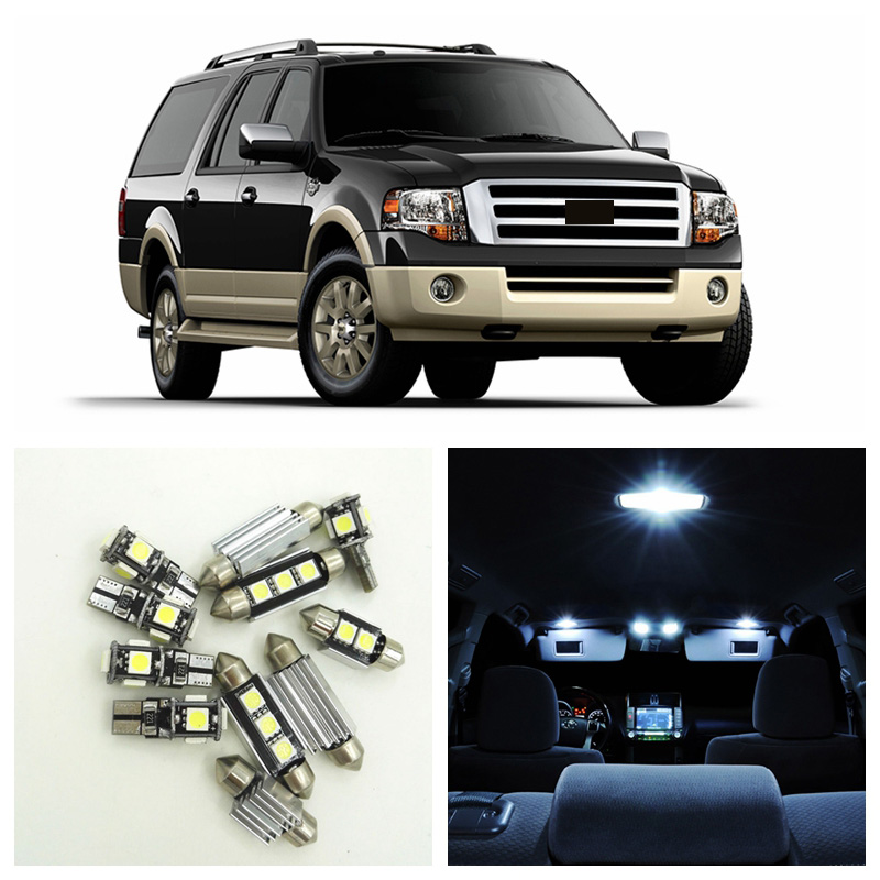 2015 Ford Expedition Interior Colors: Aliexpress.com : Buy 15pcs White Car LED Light Bulbs