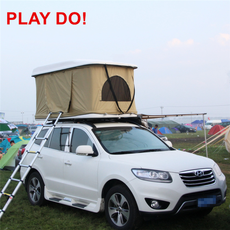 2016 Hard Shell Car Roof Top Tent for Camping and