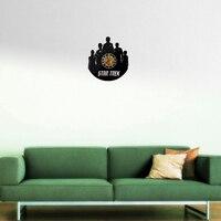 new real time-limited quartz wall clocks acrylic watch fashion modern cartoon home decor For Living Room horloge stickers