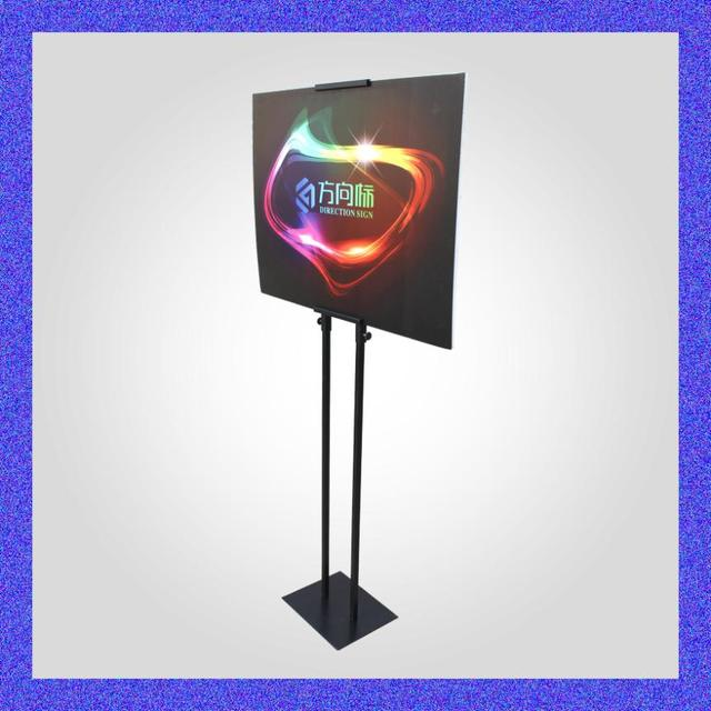 Double sided poster frame stand display paintings erect signs ...
